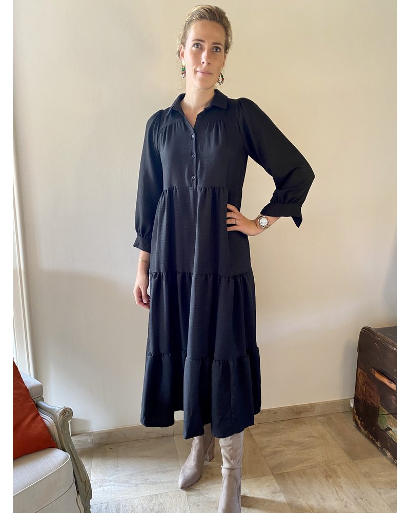 PINK GIN Selection FW21/22 Dress Loulou NOIR