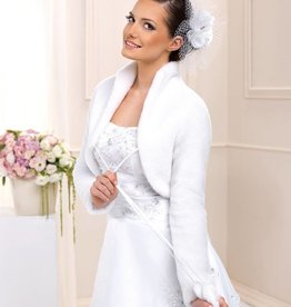Brautjacke Fellbolero Hochzeit