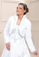Warme Brautjacke für die Winterhochzeit