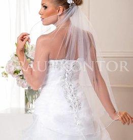 Brautkontor Kommunionkleider, Schleier, Braut Boleros Brautschleier Softüll kurz