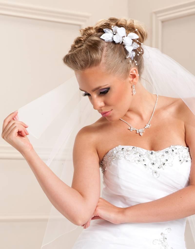 Haargesteck Rosen und Perlen