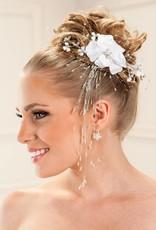 Haarblume mit Strass für Ihre Brautfrisur