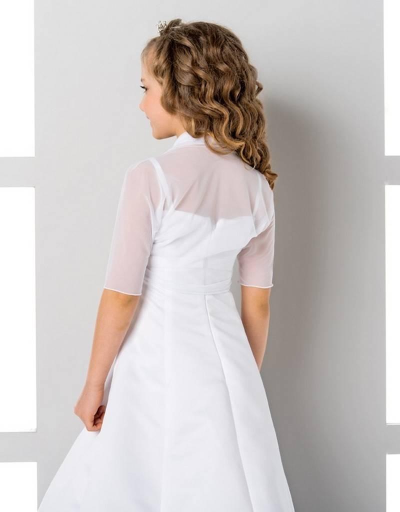 Bolero kurzarm zum Mädchenkleid