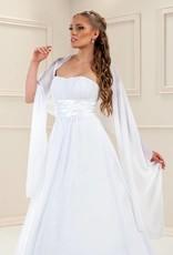 Weiche Stola zum Brautkleid