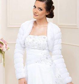 Braut Fell Bolero Jacke Winter Hochzeit