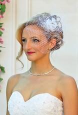 Fascinator für Ihre Brautfrisur