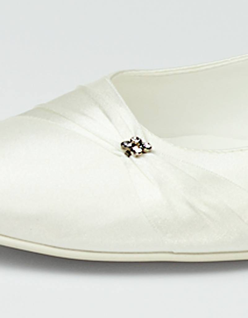Satin Schuhe für Ihre Hochzeit