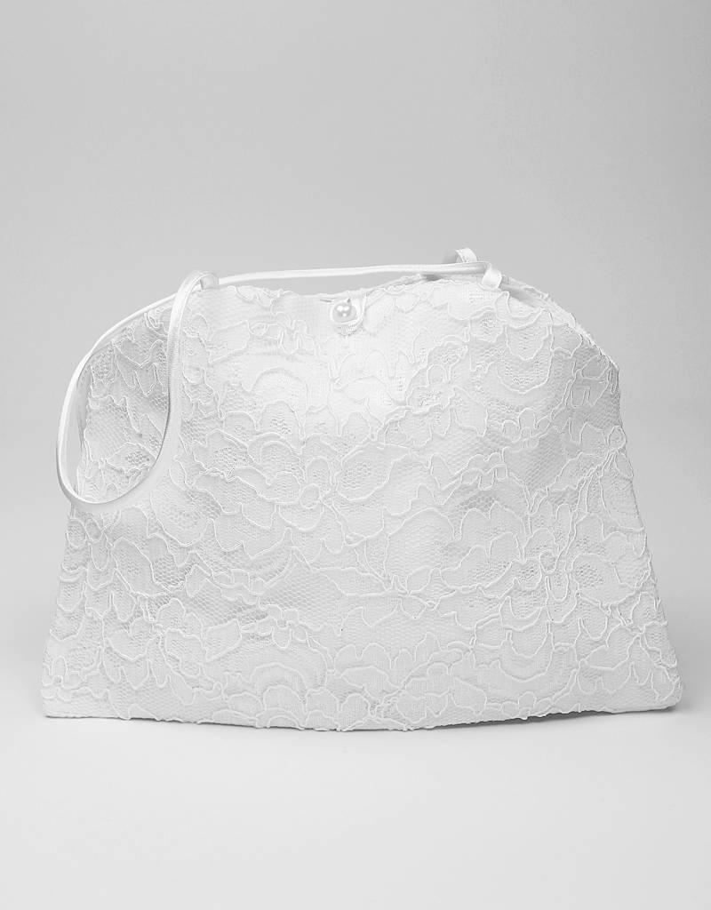 Brauttasche oder Kommuniontasche aus Spitze