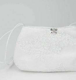 Bianco Evento  Brauttasche mit Spitze