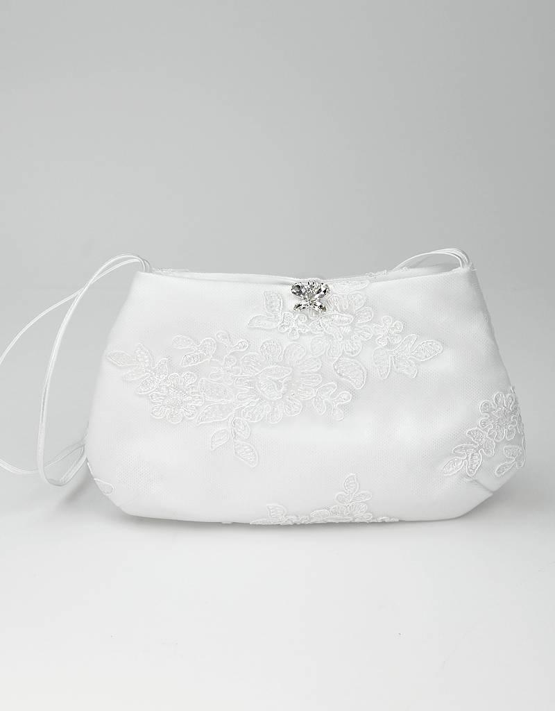 Bianco Evento Brautmode  Zauberhaft mit Kristallschmetterling