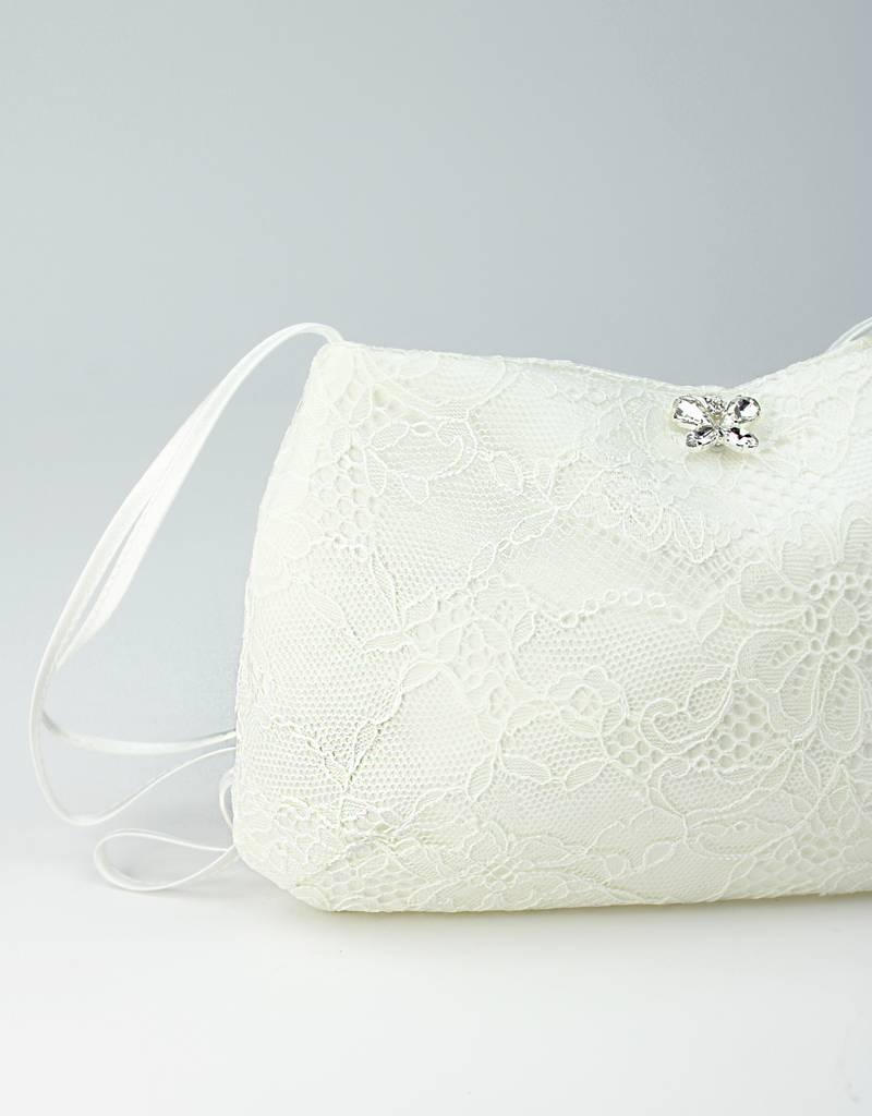 Bianco Evento Brautmode  Mit Strass Schmetterling