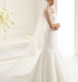 Langer Brautschleier 3m aus Softtüll