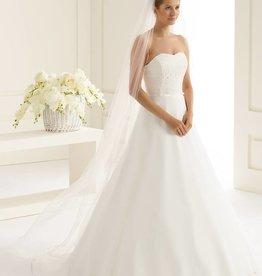 Feiner langer Brautschleier Soft Tüll