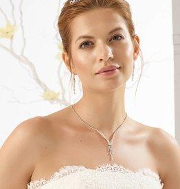 Bianco Evento Brautmode  Brautschmuck Set für Ihre Hochzeit