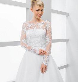 Braut Bolero Hochzeit Spitze Pailletten