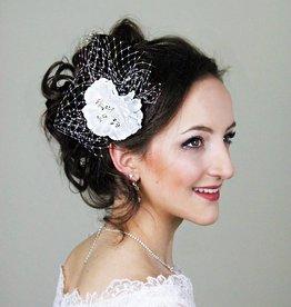 Haarblume Hochzeit Haarschmuck