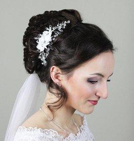 Haargesteck Schleierabschluss