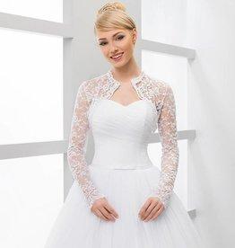 Braut Bolero  Spitze mit Pailletten