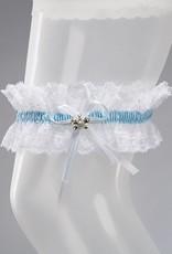 Bianco Evento Brautmode aus Berlin Strumpfband aus Spitze in weiß oder creme
