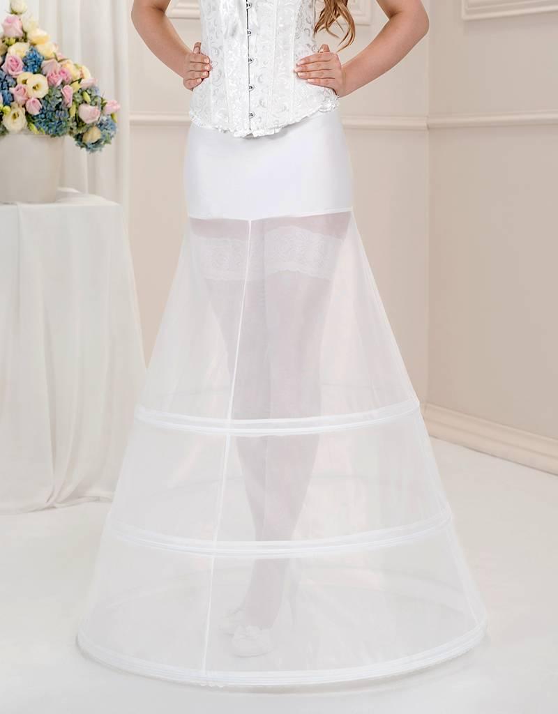 16 Ringe Reifrock zum Prinzessin Brautkleid 16cm Umfang.