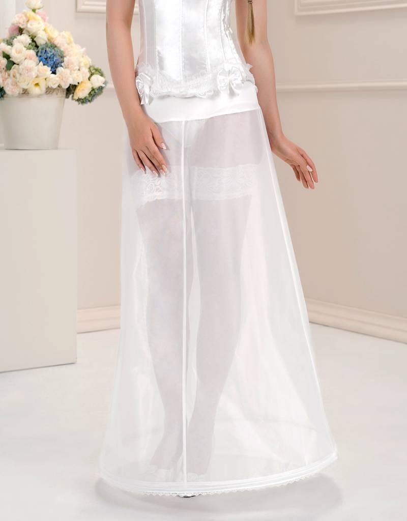 Reifrock zum Brautkleid elastischer Bund 16cm Umfang.