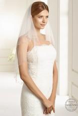 Brautschleier in Handarbeit verziert