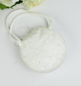 Kommuniontasche Brauttasche mit Spitze Perlen