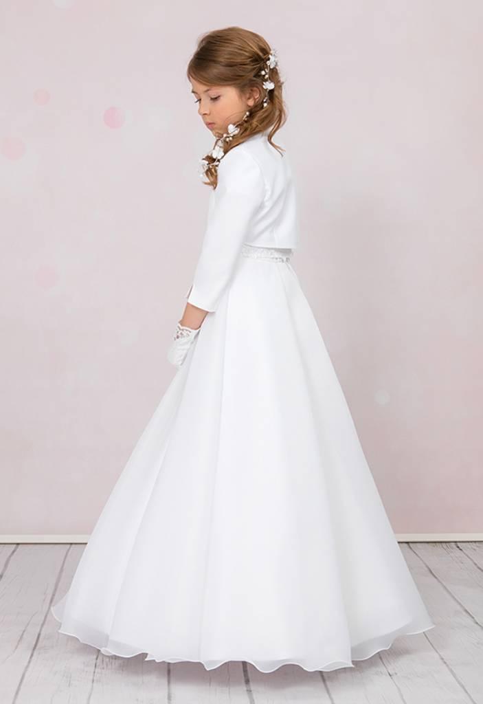 Brautkontor Kids Kommunion Schlichtes Kommunionkleid mit Spitze