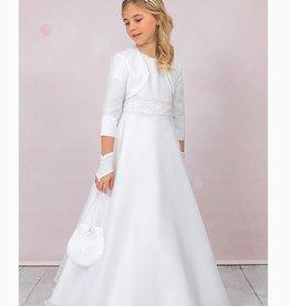 Brautkontor Kids Kommunion Kommunionkleid Set schlicht und elegant
