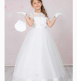 Brautkontor Kids Kommunion Kommunionkleid Mia mit Tüll und Spitze