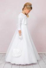 Brautkontor Kommunionkleid mit Spitze in A-Linie