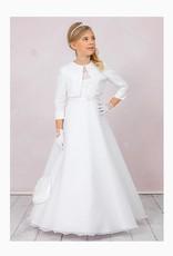 Brautkontor Kids Kommunion Kommunionkleid Komplett Set A-Linie mit Spitze