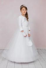 Brautkontor Kids Kommunion Exclusives Kommunionkleid mit besonderen Spitze