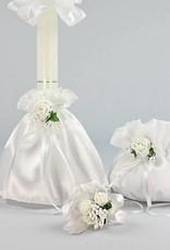 Kommunion Accessoires Set für Mädchen in weiß