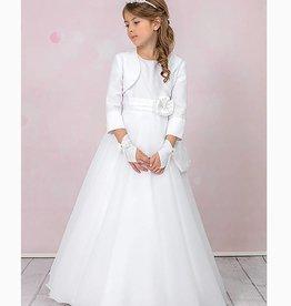 Brautkontor Kids Kommunion ANNA-Kommunionskleid schlicht mit Perlen