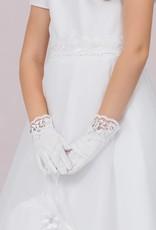 Brautkontor Kids Kommunion Mädchen Handschuhe für Kommunion