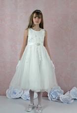 Festliches kurzes Mädchenkleid  in ivory creme