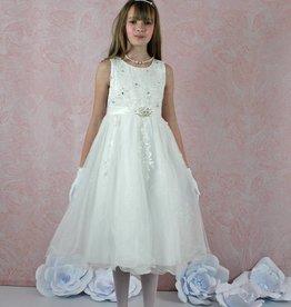 Kurzes Kommunionkleid Blumenmädchenkleid