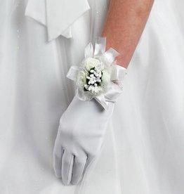 Kommunion oder Brautjungfer Blumen Armband