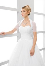 Braut Bolero aus Stretchtüll