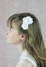 Kopfschmuck Haarkamm für Kommunion oder Hochzeit