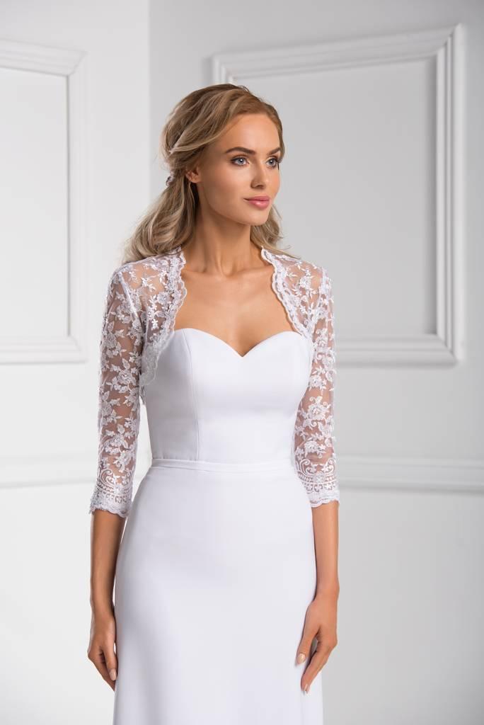 96cd67331b Great wedding bridal lace bolero white or ivory -