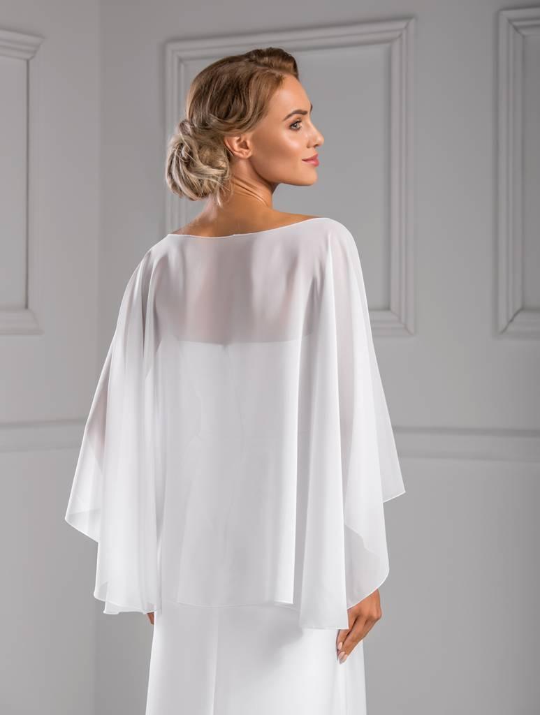 Perfekte Stola zum Brautkleid