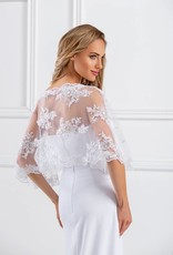 Stola zum Brautkleid aus Spitze mit Pailletten