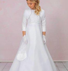 Brautkontor Kids Kommunion JULIA 4-teiliges Kommunionskleid mit Spitze