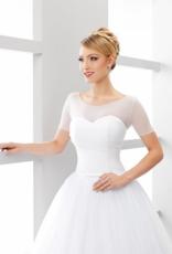 Hauchzarter Braut Bolero aus Stretchtüll