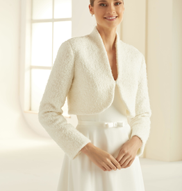 Elegante Brautjacke Bolero mit Wolle