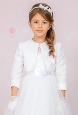 Brautkontor Kids Kommunion Kommunion Kleider maßgeschneidert mit Bolero