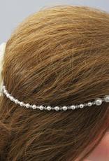 Kommunion Haarkranz Perlen Haarschmuck