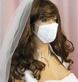 Braut Mundschutz Maske für Hochzeit